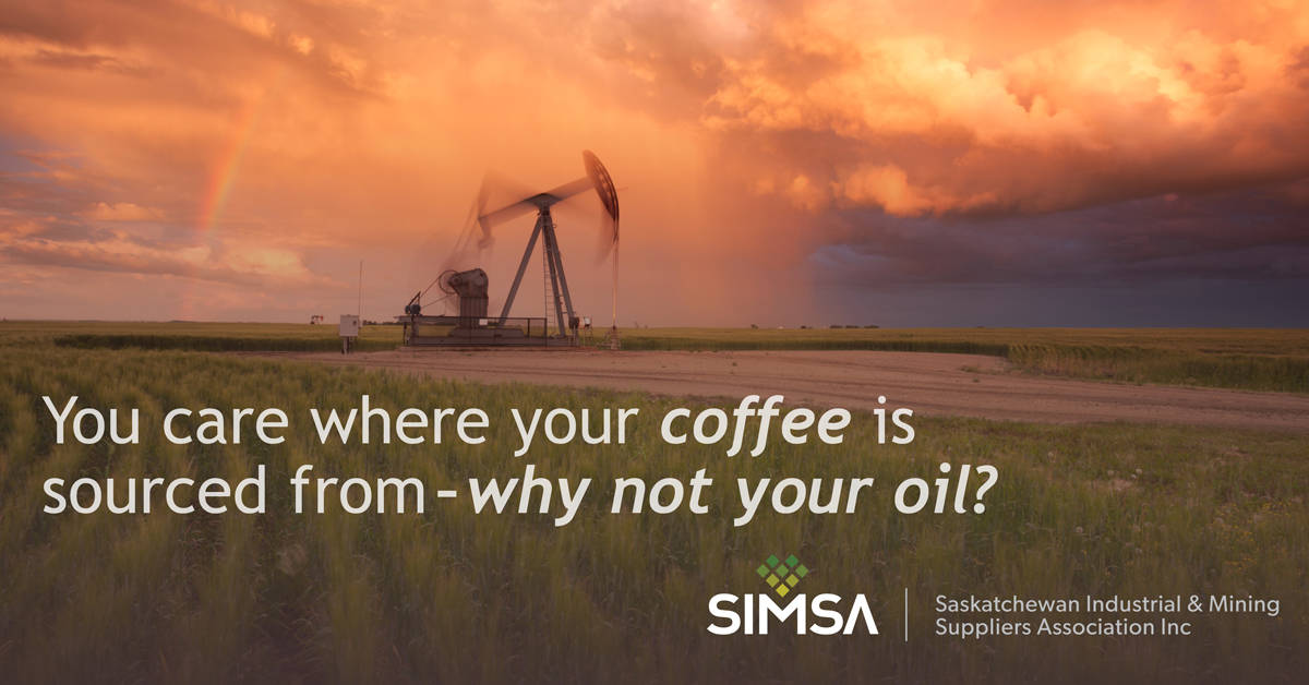 You care where your coffee is sourced from - why not your oil?